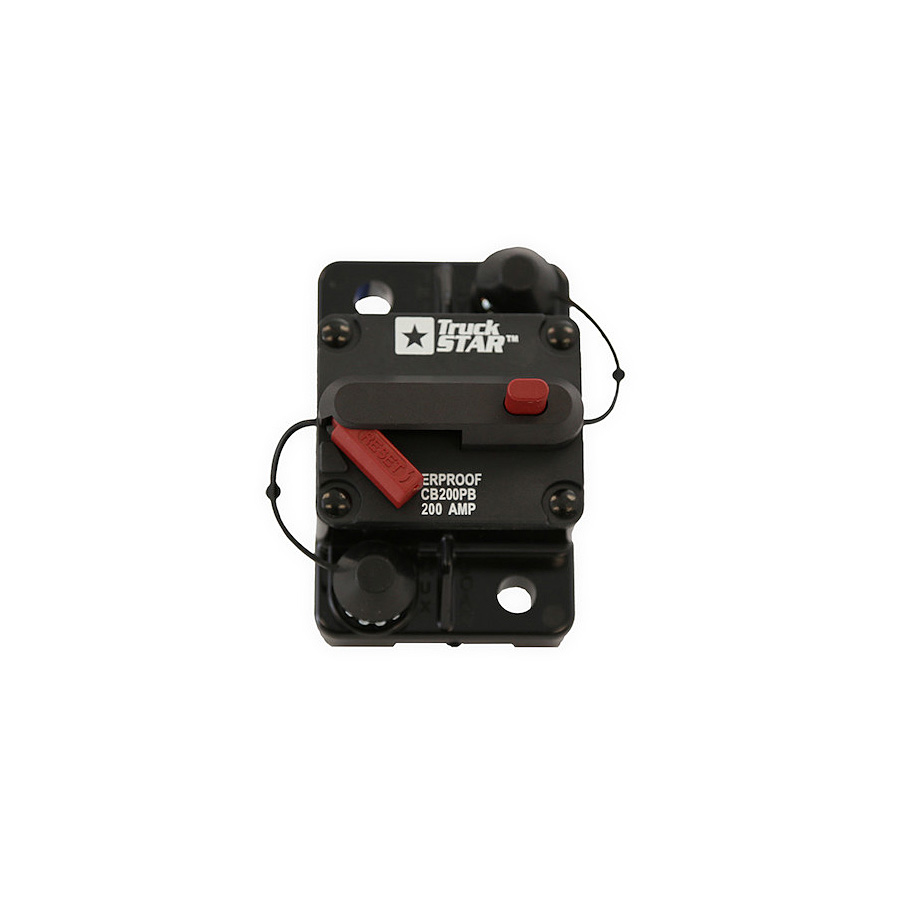 Circuit Amp Button Push Breaker 30