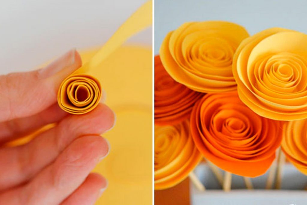 Paper Flower Craft to Make Your Home Feel Like Spring   Reader s Digest Courtesy One Little Project