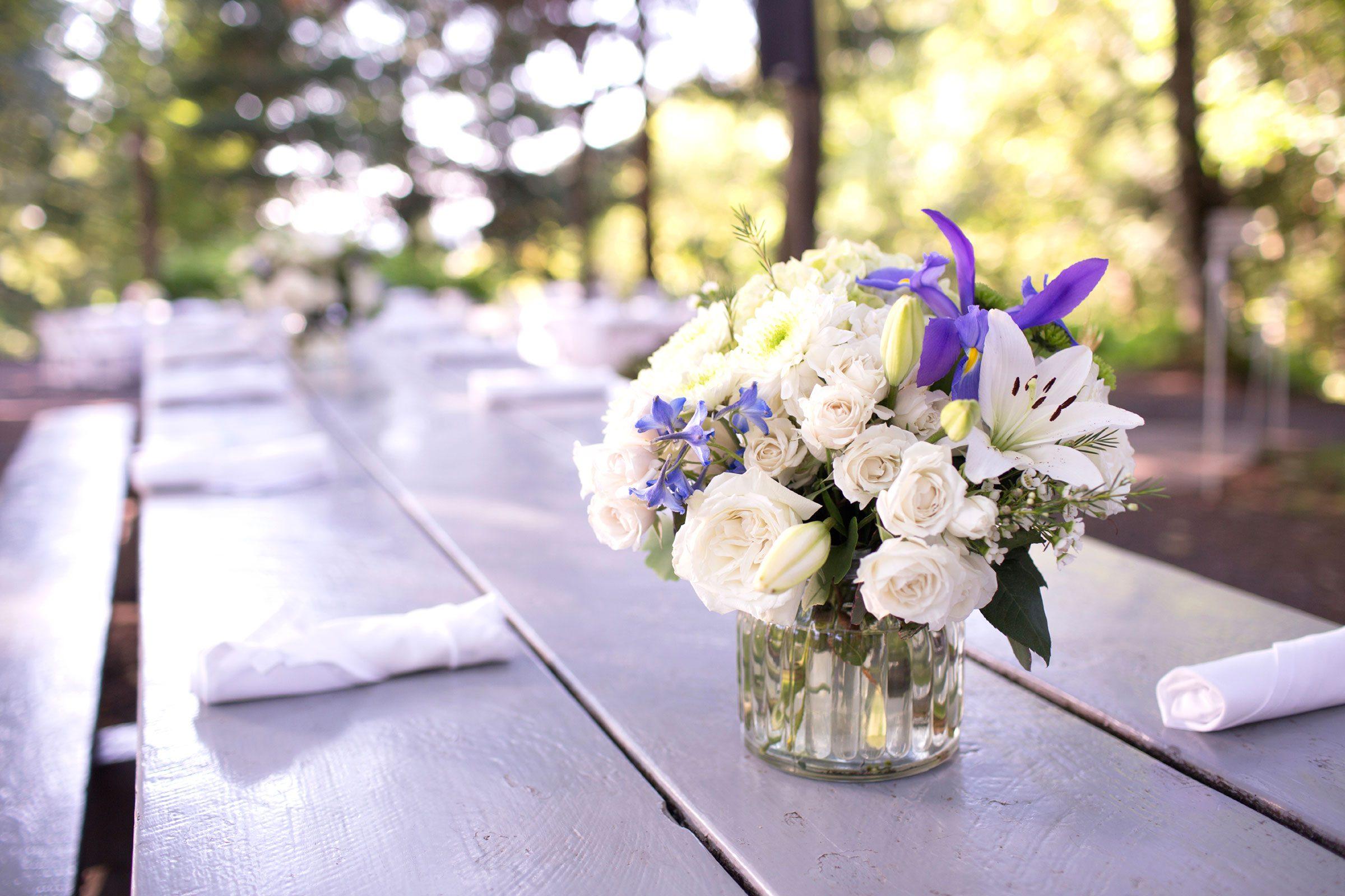 Heather Flower Arrangements
