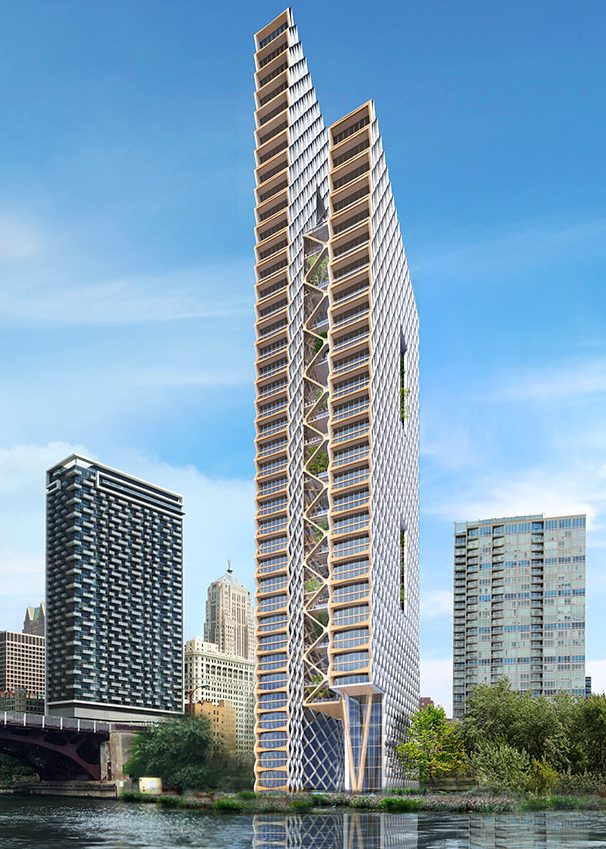 Chicago Could Soon Be The Site Of An 80 Story Wooden Skyscraper