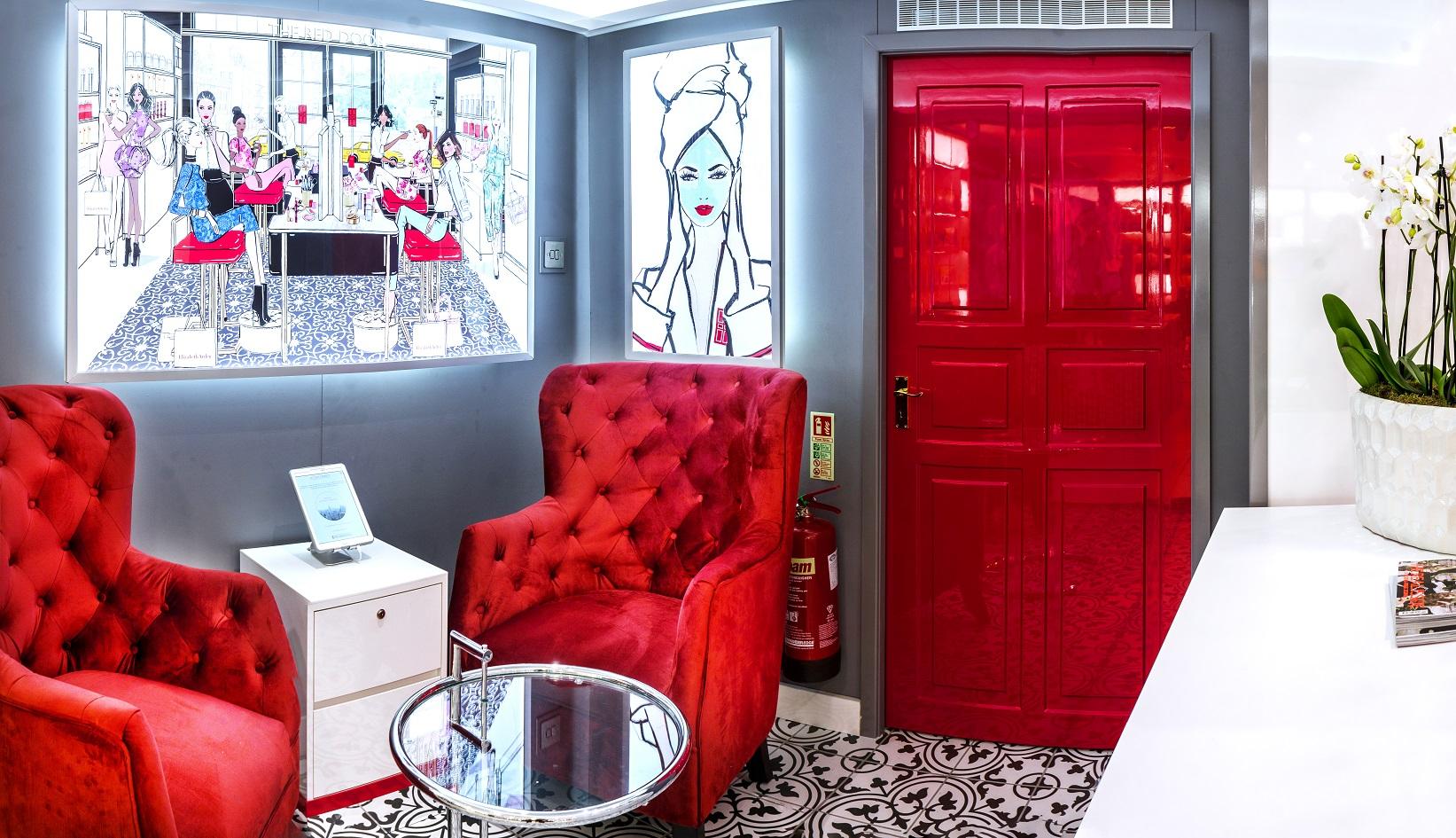 Elizabeth Arden Red Door Spa London - Debenhams