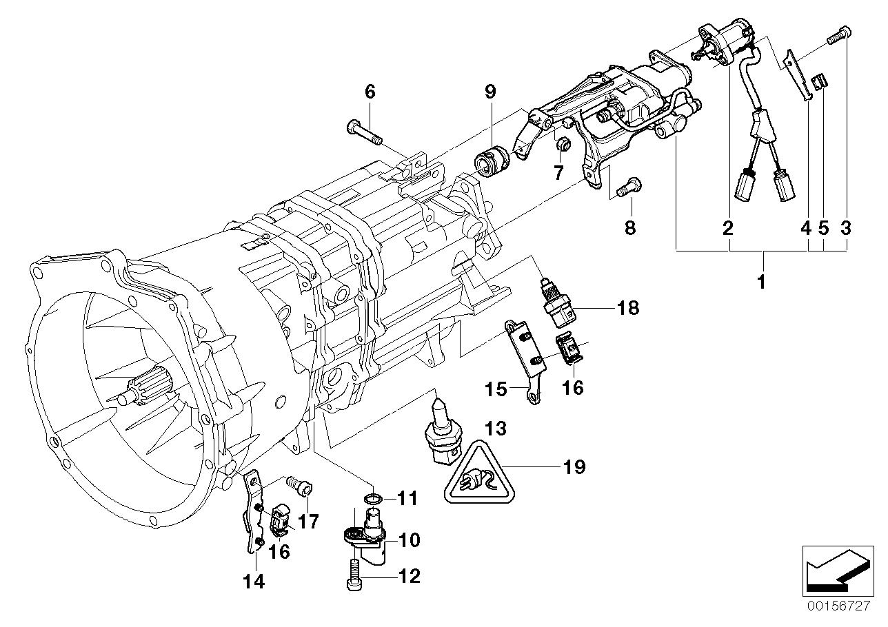 Transmission parts smg