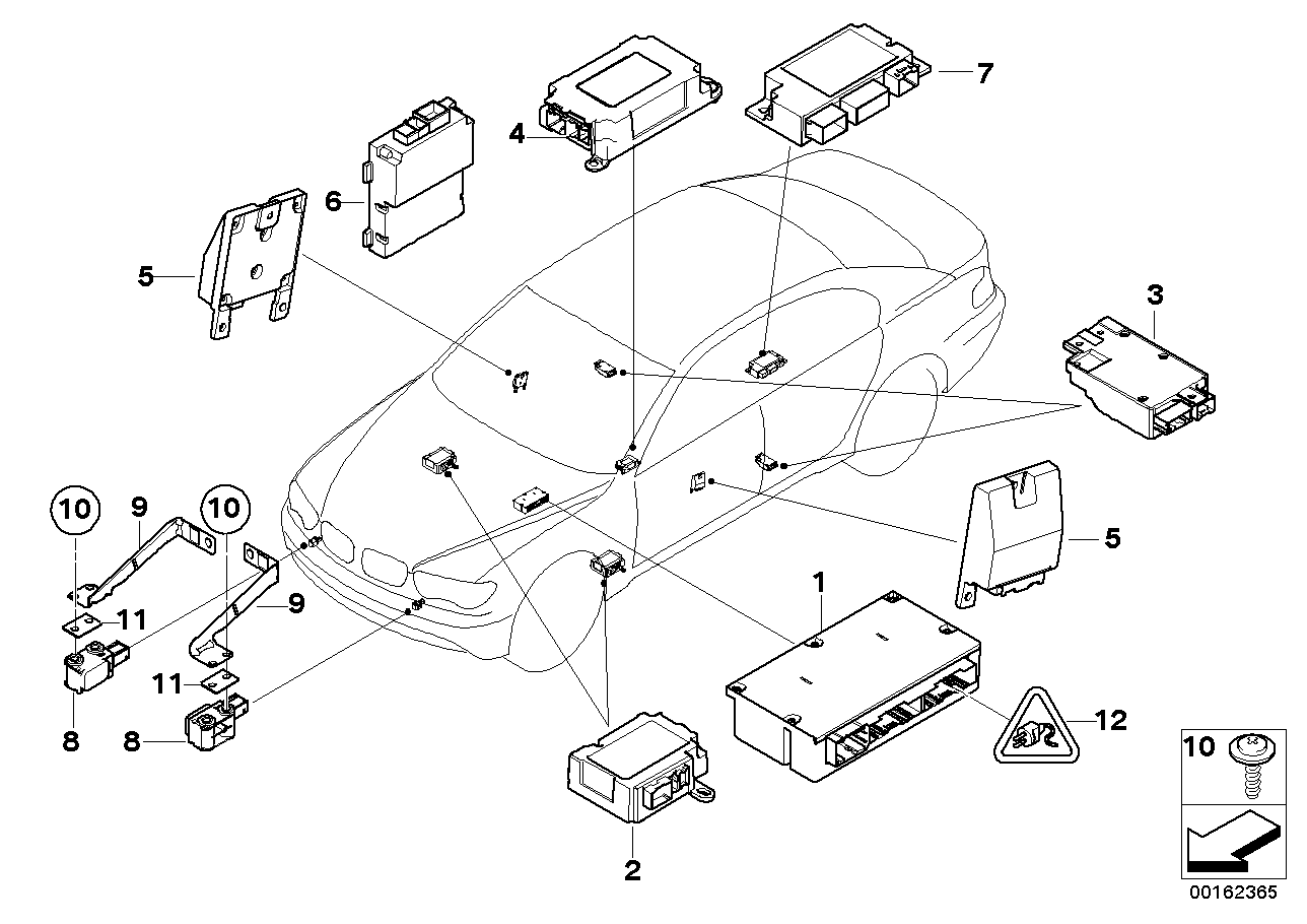 E46 airbag wiring diagram