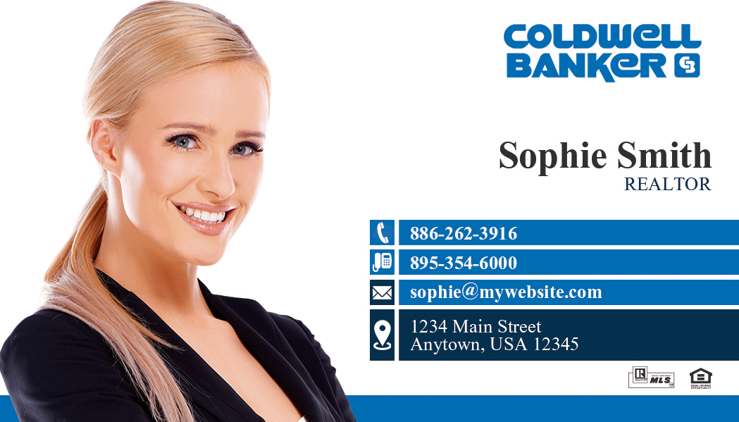 Coldwell Banker Business Card Templates - Coldwell banker business card template