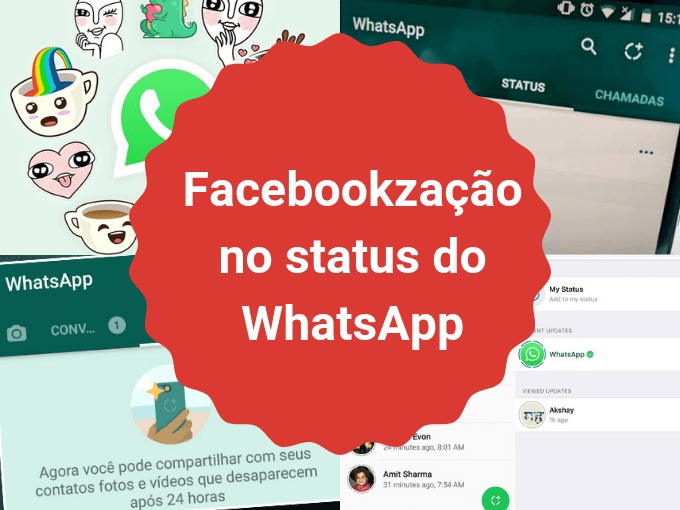 Facebookzação do WhatsApp