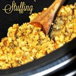 Crock Pot Stuffing