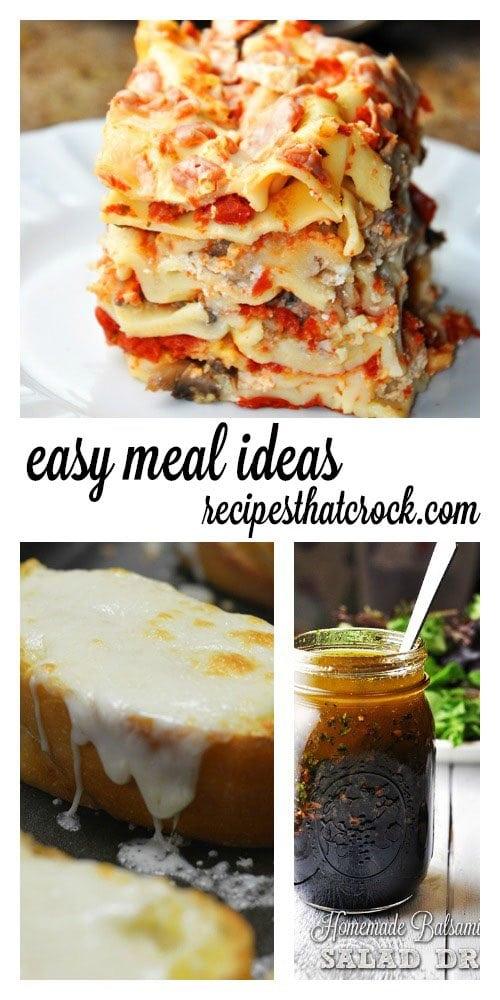 Easy Meal Ideas