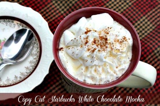 Starbucks Copy Cat White Chocolate Mocha