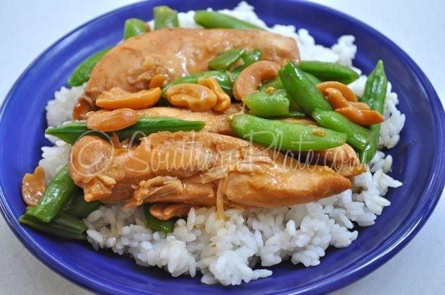 Cashew Chicken Teriyaki