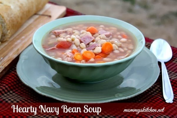 navy bean soup 012