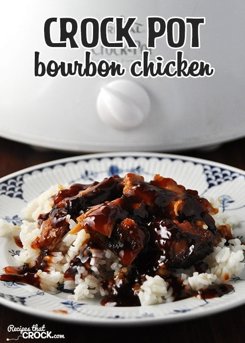This Crock Pot Bourbon Chicken is easy and delicious! via @recipescrock