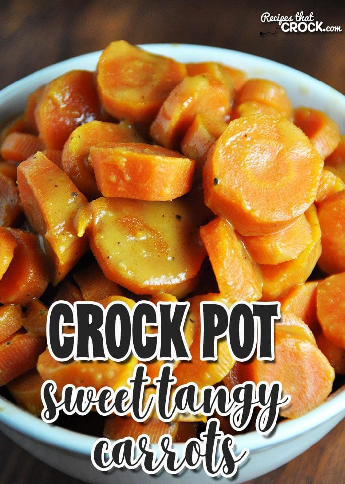 These Crock Pot Sweet Tangy Carrots have a surprisingly unique and delicious flavor!