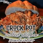 Are you looking for a rock-your-socks-off good recipe? Check out these Crock Pot Pulled Chicken Sandwiches! You're gonna love 'em!