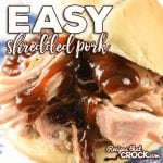 If you are looking for an easy shredded pork crock pot recipe, it doesn't get much simpler or tastier than our Easy Shredded Pork recipe.