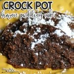 Rich, moist and delicious! Those are the first three words that come to mind when you take a bite of this Crock Pot Brownie Pudding Cake!