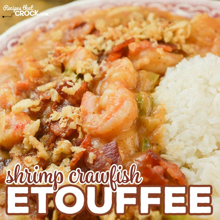 Are you looking for a Homemade Shrimp Crawfish Etouffee Recipe? Our from-scratch recipe is a seafood lover's dream!