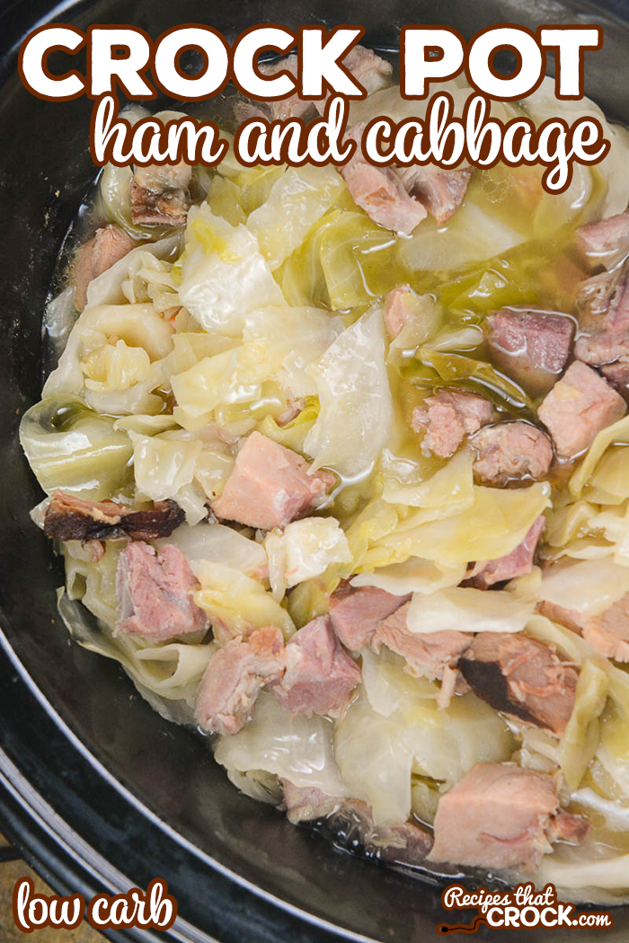 Are you looking for an easy low carb family dinner? We love this Crock Pot Ham and Cabbage. It is so easy to throw together and a perfect leftover ham recipe.