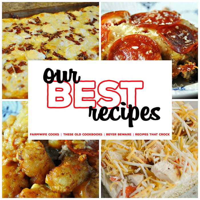 This collection of 8 Great Pizza Recipes includes Crock Pot Crustless Pizza(Low Carb), Keto Pizza, Pizza Burgers, Pepperoni Pizza Pasta Casserole, Low Carb Crock Pot Pizza Soup, Chicken Ranch Vegetable Pizza, Crock Pot Pizza Tater Tot Casserole and Four Cheese and Bacon Pizza.