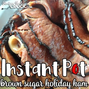 This Instant Pot Brown Sugar Holiday Ham gives you an incredibly flavorful ham with very little work and with only 12 minutes of cook time! Everyone will love it!