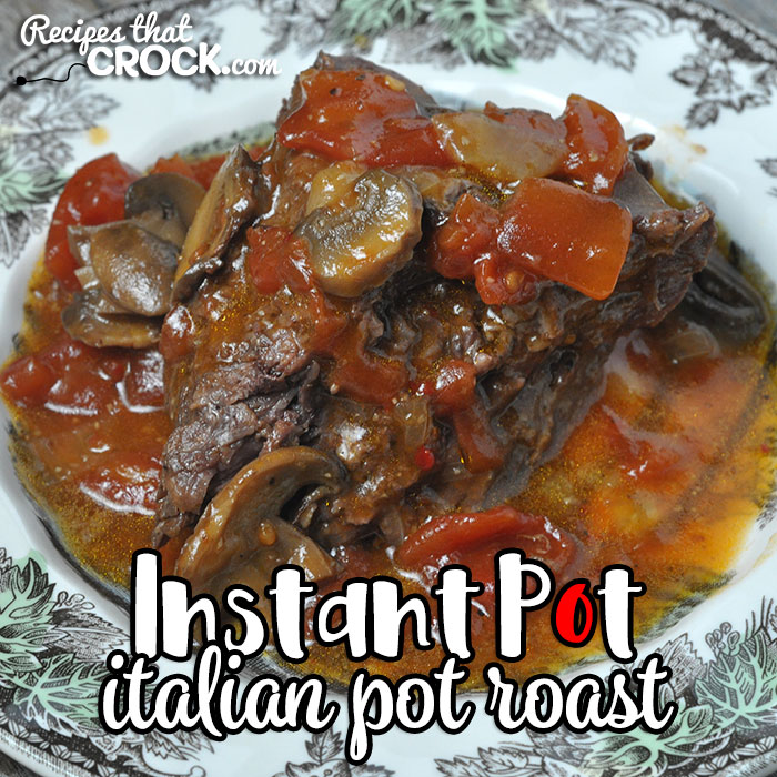 If you are looking for an easy roast recipe that is delicious and can be made after you get off work? Then you don't want to miss this Italian Instant Pot Roast!