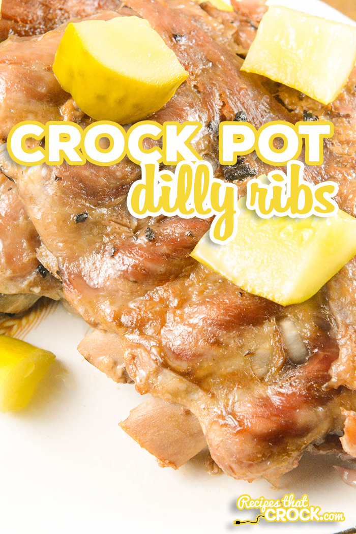 Our Crock Pot Dilly Ribs are a very easy way to make very flavorful pork ribs that are fall apart tender every time! This fail-proof recipe is perfect for beginners and experienced cooks alike!