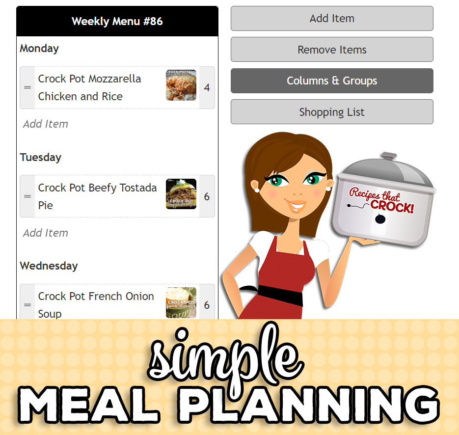 Meal Planning is easy using our Recipe Box. Organize your favorite recipes, print shopping lists and more when you learn how to meal plan with Recipe Box!
