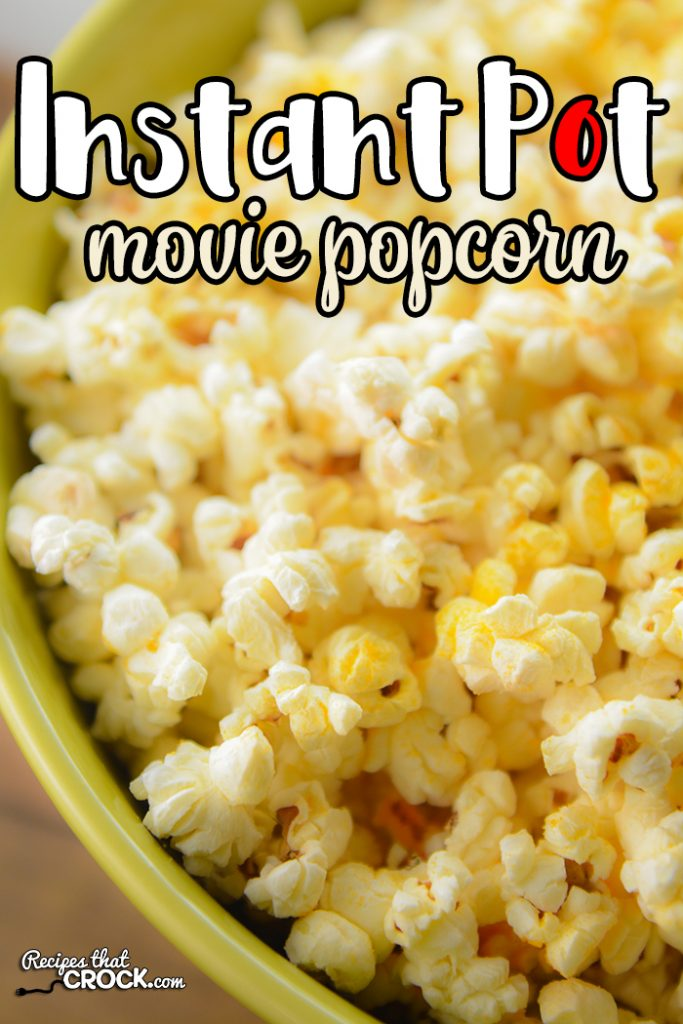 Are you looking for a way to make movie popcorn at home? Our Ninja Foodi Popcorn Recipe is a super simple way to make homemade popcorn in any electric pressure cooker, including instant pot. I have vowed never again to make microwave popcorn. This recipe is just as easy, less likely to burn and tastes SO MUCH better!