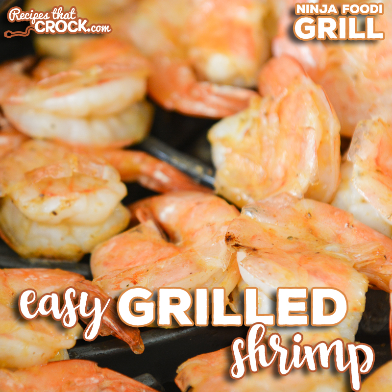 Do you love grilled shrimp and want an easy recipe to make it at home? Our Easy Grilled Shrimp couldn't be simpler. Cook on your traditional outdoor grill or Ninja Foodi Grill.