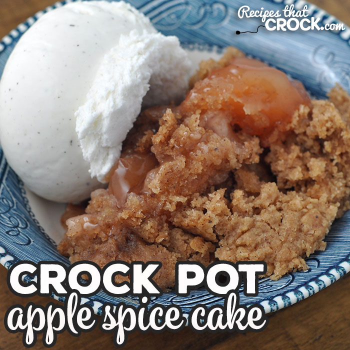 My family absolutely loved this Crock Pot Apple Spice Cake recipe. I bet you and your loved ones will too! The flavor is amazing!