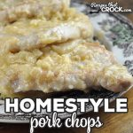 If you love our Crock Pot Homestyle Pork Chops, you are going to love this recipe that makes it into a stove top recipe you can make in a half hour flat!