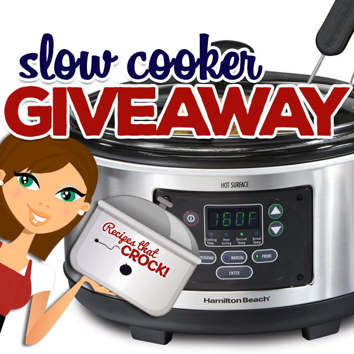 We are giving away a slow cooker to celebrate the start of summer! After the year we've all had, we figure everyone could use a little help getting dinner on the table. via @recipescrock