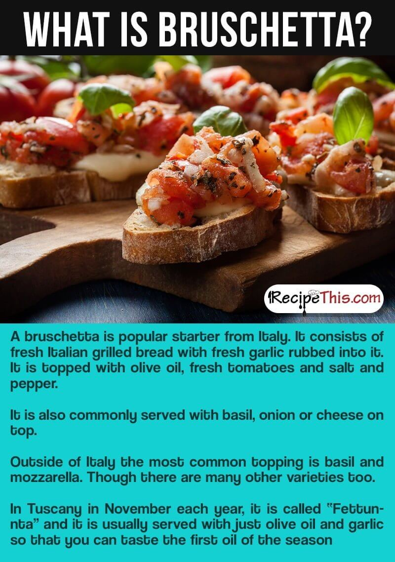 How To Make Bruschetta In The Air Fryer Recipe This