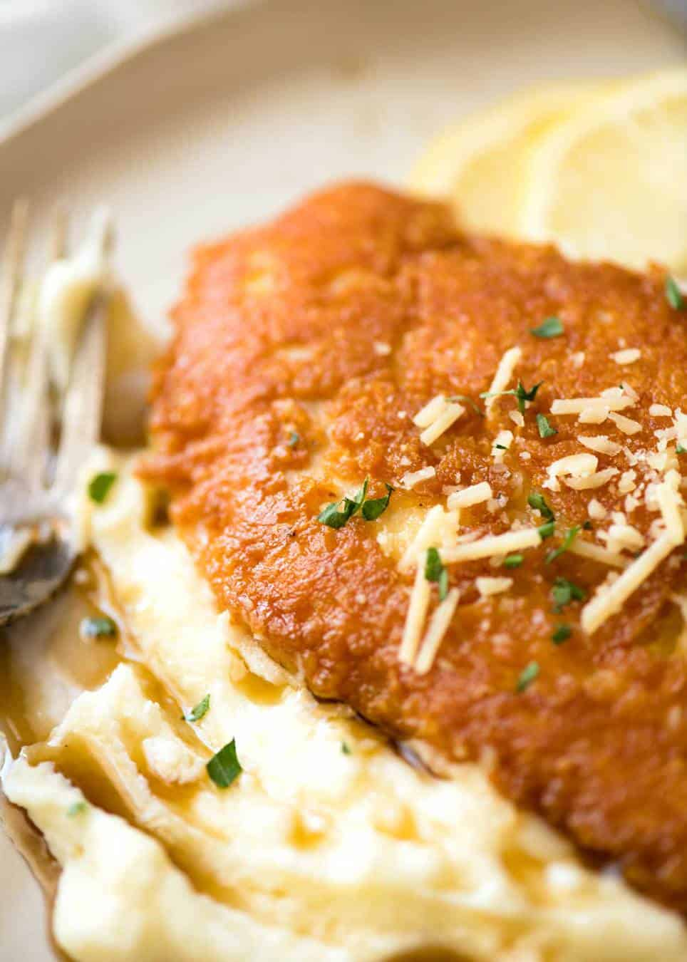Parmesian Crusted Chicken
