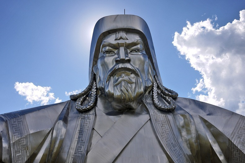 Genghis Khan Equestrian Statue In Mongolia Biggest In