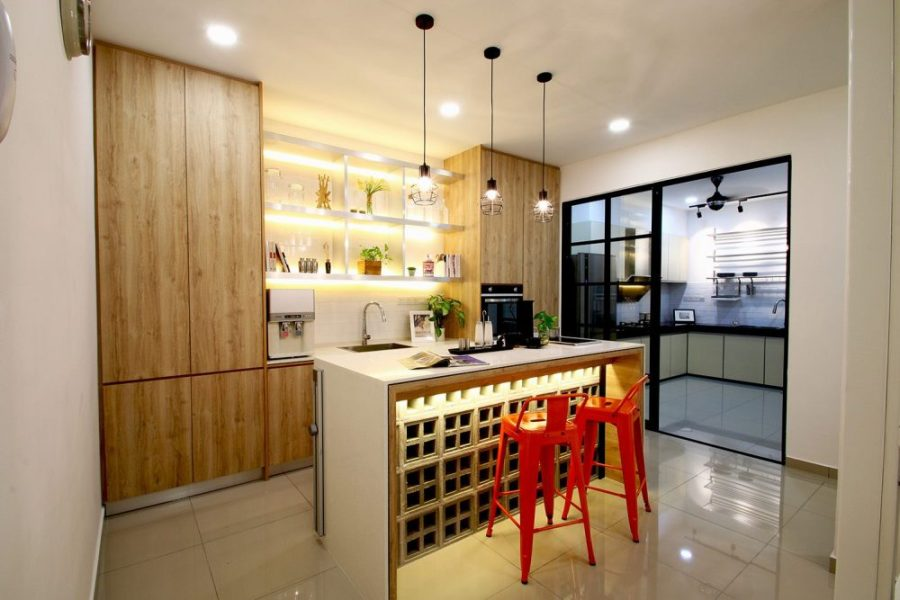 14 Wet and Dry Kitchen Design Ideas in Malaysian Homes   Recommend     14 Wet and Dry Kitchen Design Ideas in Malaysian Homes