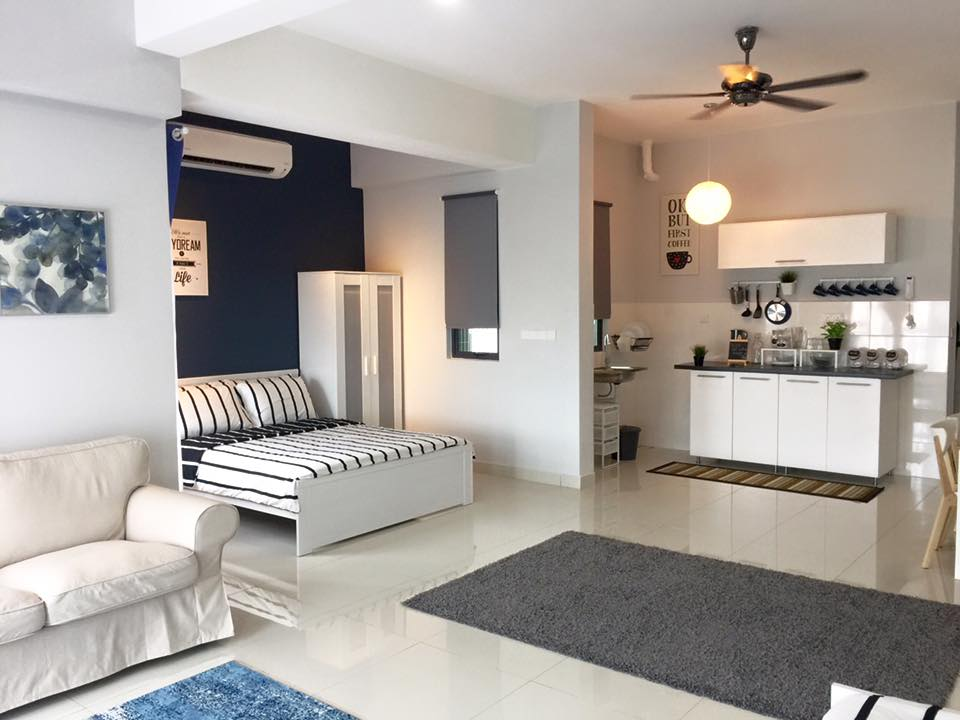 Awesome IKEA Inspired Decor in 8 Malaysian Homes   Recommend LIVING Anis Syuhada also did the interior design for this studio apartment that  screams    IKEA     at every corner  Complete with compact kitchen design and  practical