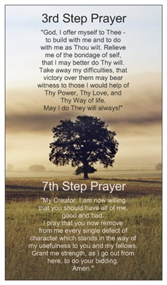 Prayer Of St Francis Inspirational Card Recovery Shop
