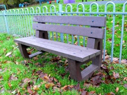 Bradley Garden Bench Park Bench Recycled Plastic Trade