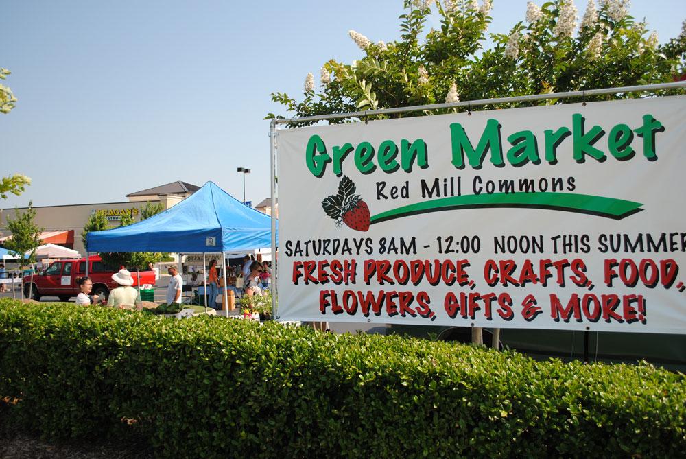 Green Market at Red Mill Commons - Red Mill Commons
