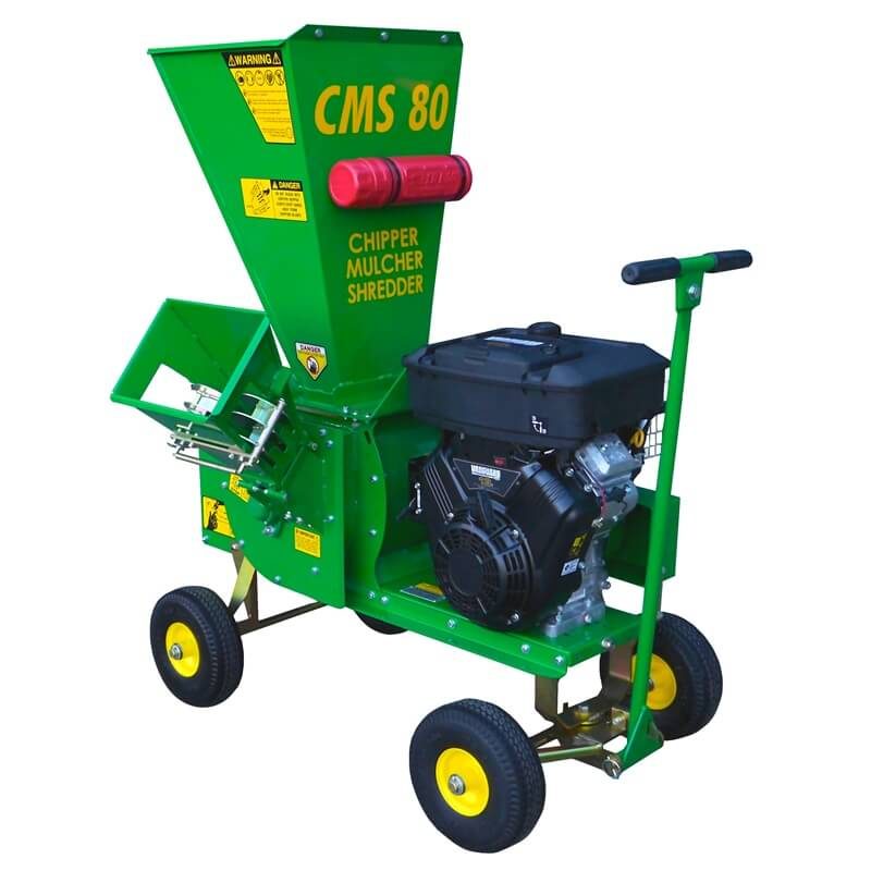 Garden Mulcher Chipper Shredder