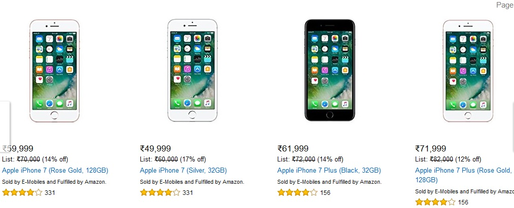Plus Price Iphone 7 128gb India