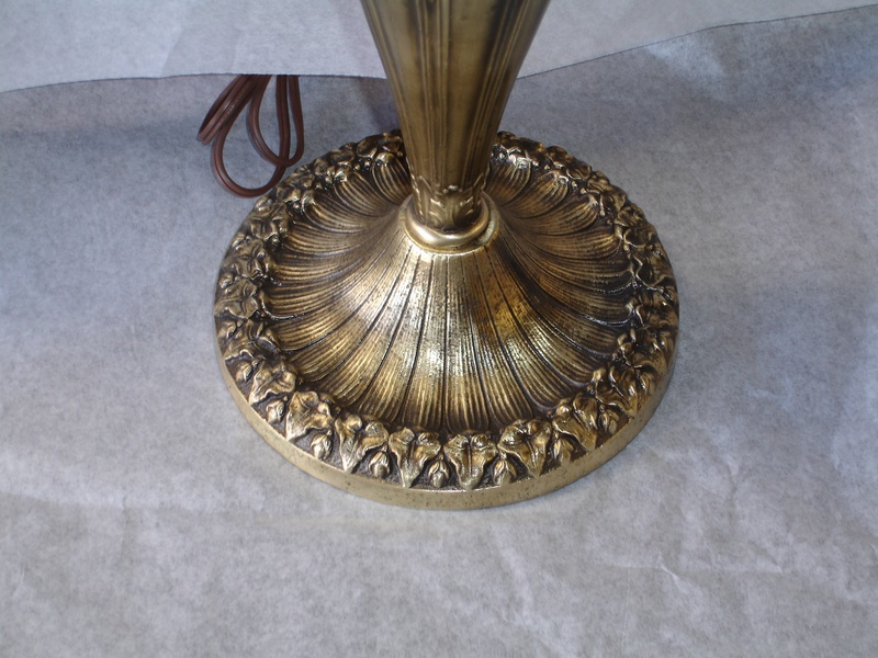 Refinishing Metal Lamps