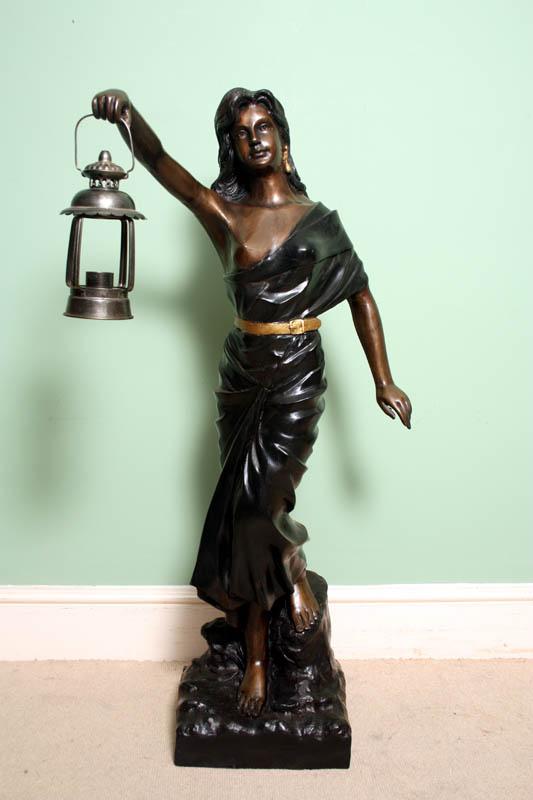 Stunning Bronze Statue Ref No 02252 Regent Antiques