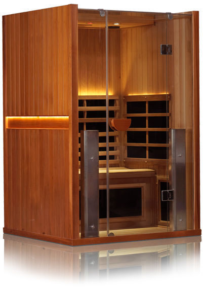 Sanctuary 2 Person Infrared Sauna Free Shipping