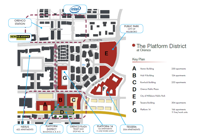 Intel Campus Map.Intel Campus Hillsboro Oregon Map