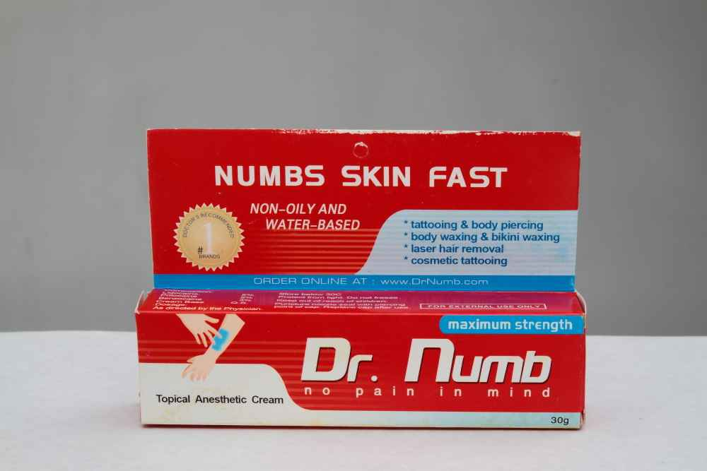 Lidocaine Strongest Numbing Cream