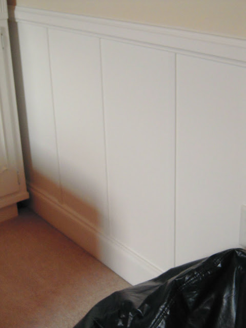 Contemporary Wainscoting Panels