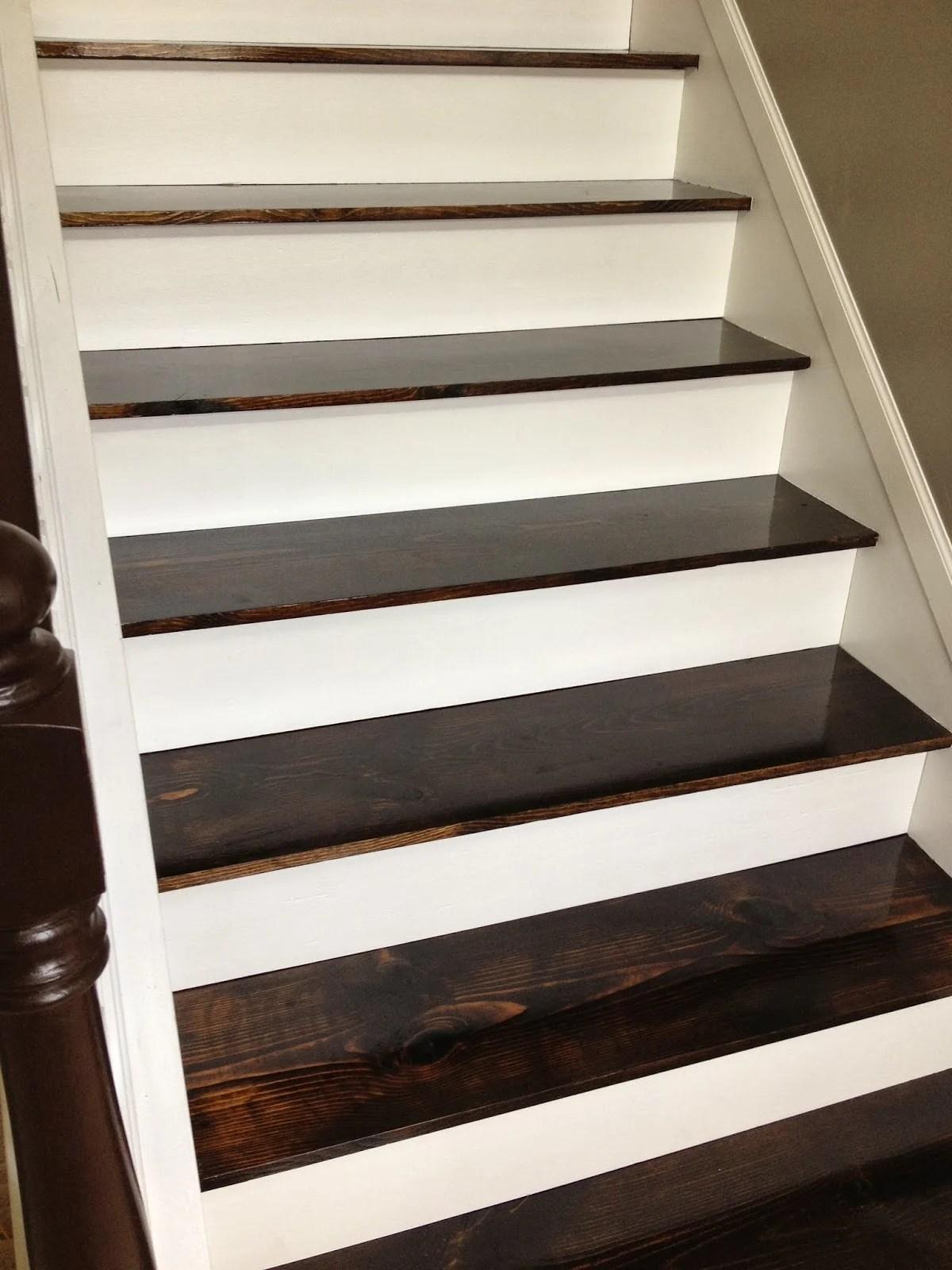 Remodelaholic 60 Carpet To Hardwood Stair Remodel | Carpet On Hardwood Stairs