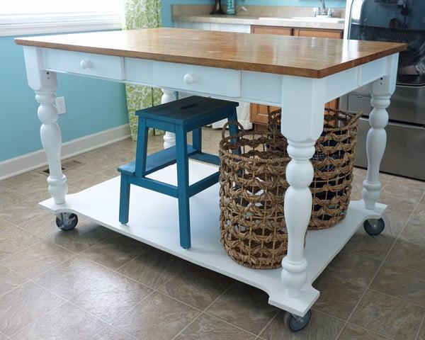 Turn Desk Kitchen Island