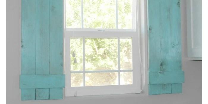Inside Window Shutters Wall